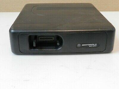 Motorola Mcs2000 Analog Ham Radio 2-way Dashmount Flashport Tranceiver Only