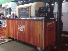 MAKE AN OFFER Complete mobile coffee cart 3 group San Remo machine. Five Dock Canada Bay Area Preview