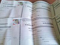 3 Vaglia Postali Nuovi Con Francobollo Da Lire 100 -  - ebay.it