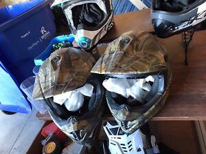 Quad & Snowmobile Helmets