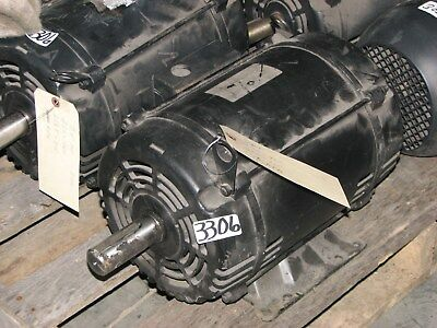 Ingersol Rand Weg Motor 7.5hp 3ph 230460v 2135t Frame 1750 Rpm