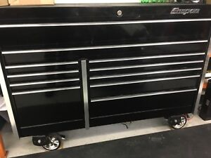 "Snap on Heavy Duty Roll Cabinet. 54"", 30"" Deep tool box"
