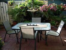 Outdoor Glass Top Table Seacombe Gardens Marion Area Preview