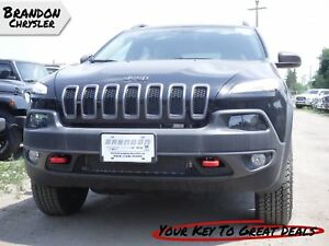2018 Jeep Cherokee Trailhawk Leather Plus ~ Heated Seat and Stee