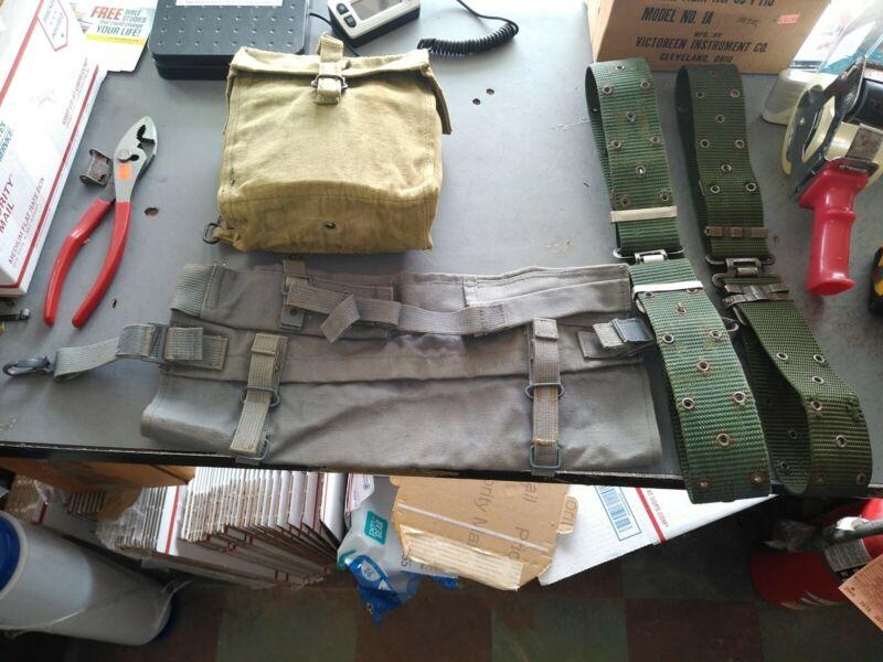 Iraqi Army Field Gear lot with Web Gear
