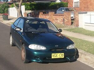 1998 Hyundai Excel Hatchback - HAS TO GO BEFORE 28TH JANUARI Cooks Hill Newcastle Area Preview