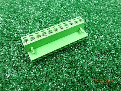 Code 3 Federal Signal Unitrol Siren 11-pin Terminal Green Wire Block Plug A54