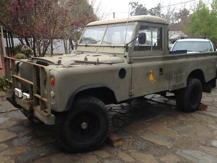 Landrover series 3 ex army