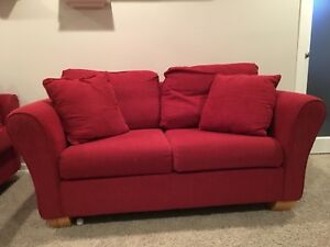 Sofa set with coffee table (couch, love seat, and coffee table)