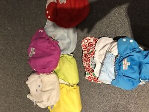 Size 2 Apple cheeks cloth diapers. Make an offer