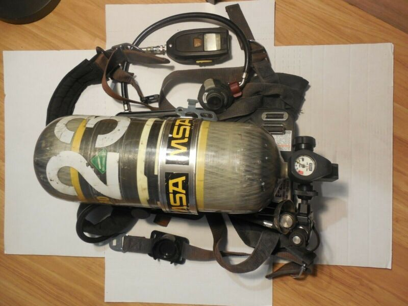 MSA AirHawk Industrial SCBA 2216 PSI 30 Min Carbon wrapped Tank Cylinder