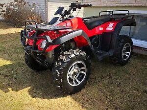2008 4x4 ATV ONLY 300km!