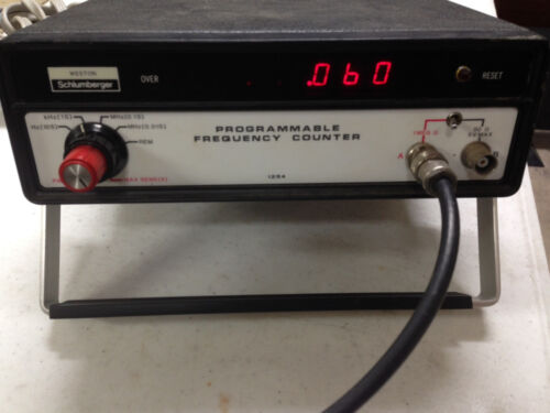 Weston Schlumberger 1254 Programmable Frequency Counter