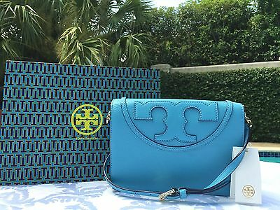 TORY BURCH ALL-T COMBO CROSS-BODY JUNIPER BERRY NWT $395 +GIFT BAG SOLD OUT