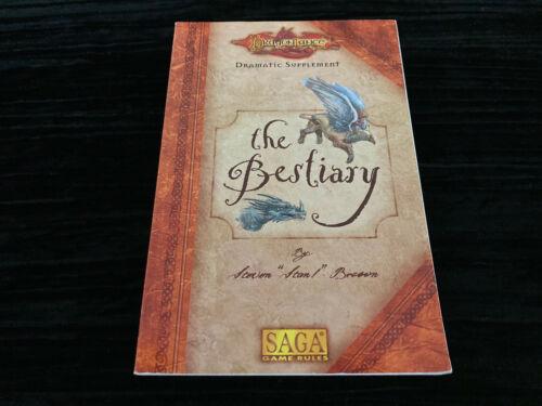 Dragonlance 5th Age supplement The Bestiary  SAGA Rules  TSR 1998