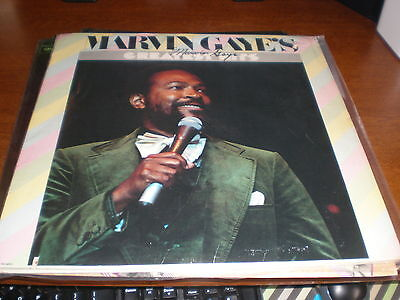 Marvin Gaye LP Greatest Hits AUTOGRAPHED