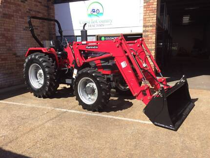 Mahindra 6030 tractor with Front End Loader and 4in1 Bucket Browns Plains Logan Area Preview