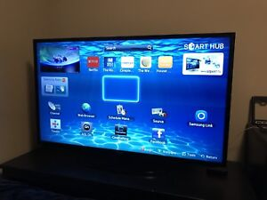 "Samsung 46"" LED smart tv with wifi"