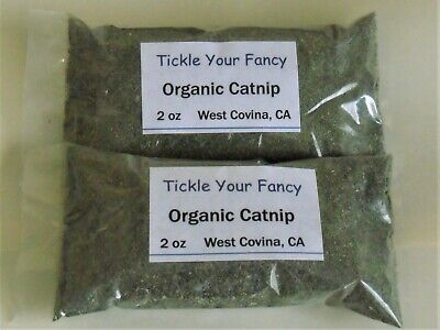 New Blend Organic Catnip 2 bag special 4 oz total