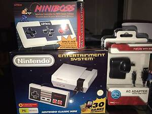 Nintendo Classic Mini with wireless controller and adapter Prahran Stonnington Area Preview