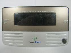 Sonic Boom Alert Extra Loud for Heavy Sleepers Grey Digital Alarm Clock SB200SS
