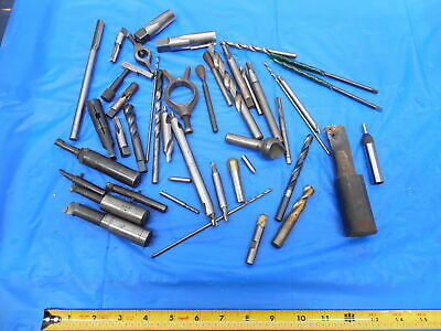 Large Lot Of Hss Tools For Bridgeport Mill Southbend Lathe Machinist Tooling