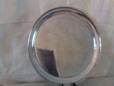 """Antique *Stieff * Sterling Silver """"Large"""" Serving Tray 12"""""""