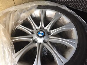 BMW 335is WINTER TIRES ON BMW RIMS FROM 2009 One month use