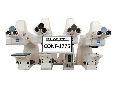 Carl Zeiss Axiotron Meg System Inspection Microscope Lot Of 4 Incomplete As-is