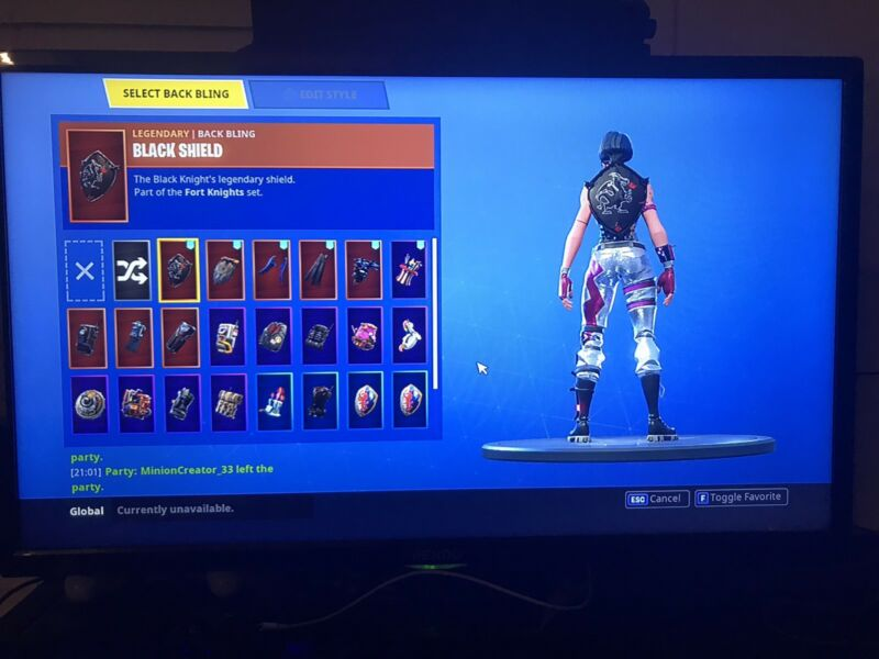 Black Knight And Mako Fortnite Account 198 Wins Other Books Music