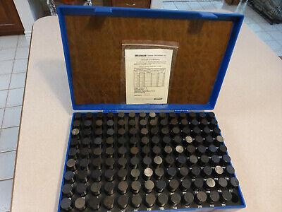 New Westward Pin Gage Set Minus 125 Piece 0.626 To 0.750 5plg8 M-4