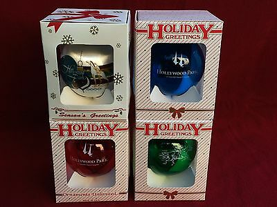HOLLYWOOD PARK Horse Racing Ornament AMERICAN PHAROAH ZENYATTA ARROGATE HOLIDAY