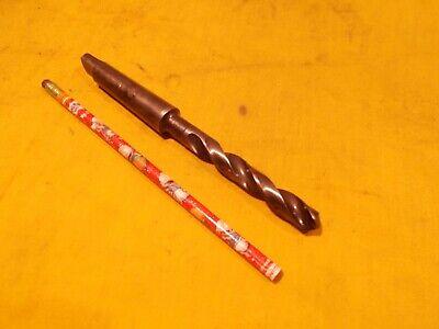 2 Morse Taper Shank X 12 Drill Bit Lathe Mt Mill Tool Chicago Latrobe Usa