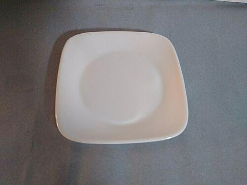 Corelle Pure White square bread & butter plate