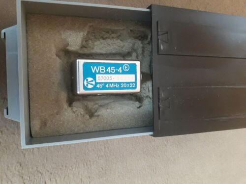 Krautkrämer (GE)  WB45-4 / WB60-4 / WB70-4  Ultraschallprüfkopf  4MHz