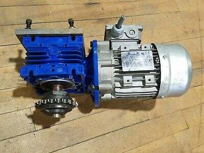 Motovario 3 Phase Electric Motor T71a-4 0.33hp 60hz 1670-1690rpm 208-460v Used
