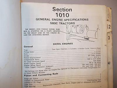 Case Backhoe Loader 580c Service Manual