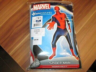 Marvel SPIDER-MAN Morphsuit Kostüm Erwachsene XL 177 bis - Spider Man Neue Kostüm
