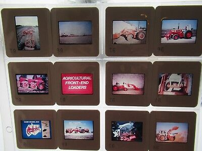 95 Case Farm Implements Presentation Slides Cards Chisel Plows Loaders Harrows