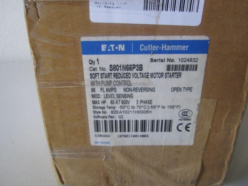 CUTLER HAMMER S801N66P3B MOTOR STARTER NON-REVERSING