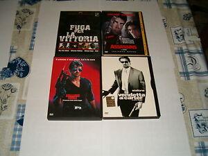 FUGA-PER-LA-VITTORIA-COBRA-ASSASSINS-LA-VENDETTA-DI-CARTER-4-DVD-STALLONE