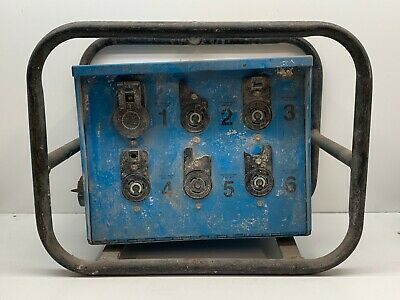 Cep 6706-s Temporary Power 50-amp Electrical Distribution Spider Box