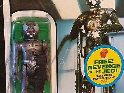 Vintage Star Wars Zuckuss MOC ESB Kenner 48 (Palitoy sticker) Original from 1982
