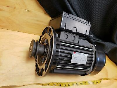Tm Motori Schio Vicenza Electric Motor 3 Phase 220v 15.2a 2.2kw 3hp B5 Mount