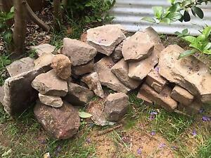 VARIETY OF SANDSTONE PIECES FOR GARDEN BORDER Willoughby Willoughby Area Preview