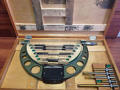 Mitutoyo No. 104 138 6 - 12 Micrometer .001 Set Wcase