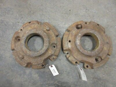John Deere 320 330 40 420 430 Front Wheel Weight M1168t Rare  Original Paint
