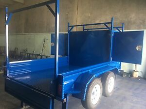 MULTI-PURPOSE 10x5 HALF BUILDER TRAILER HALF 7x5 TANDEM TRAILER Brisbane South West Preview