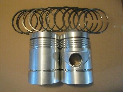 John Deere 70 720 730 80 820 830 Nos .045 Diesel Piston Pistons Ring Set