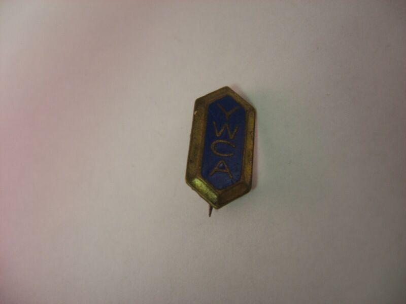 Rare Antique Vintage Pin: YWCA Young Woman
